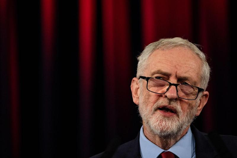 Labour leader Jeremy Corbyn has vowed to root out anti-Semitism (Getty Images)