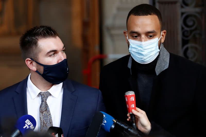 FILE PHOTO: Thalys train attacker, thwarted by Americans, on trial in Paris