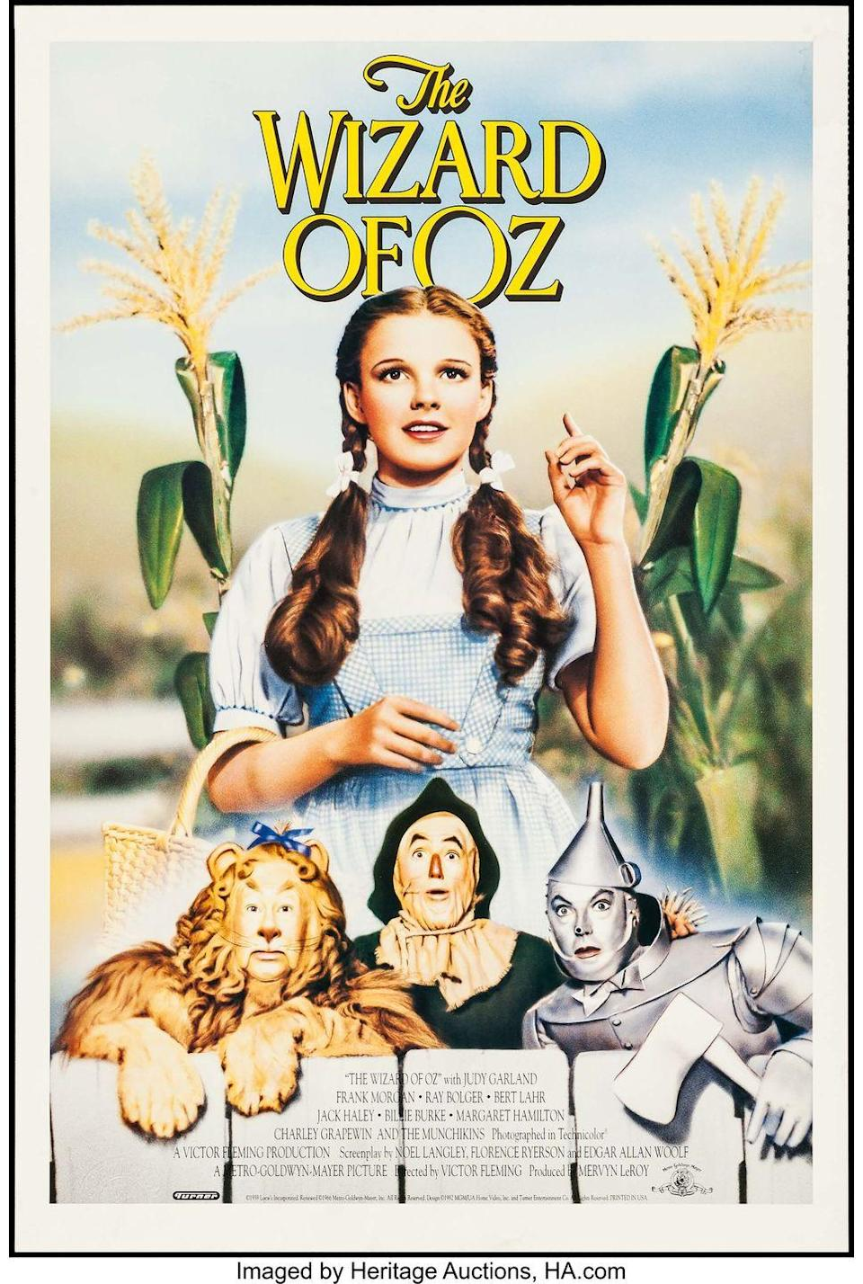 <p><strong>Dorothy actually wears high heels for her entire journey? </strong></p><p>While there is a talking Tin Man, a Scarecrow longing for a brain, and a Cowardly Lion who walks on his hind legs, what we can't get past is how Dorothy (Judy Garland) was able to travel their entire adventure in red high heels. Through the forest, on the run from flying monkeys, through the fields ahead of Emerald City: Her feet must have been killing her. Good thing those ruby slippers had magical capabilities and helped her get back to Kansas with just a few clicks.<br></p>