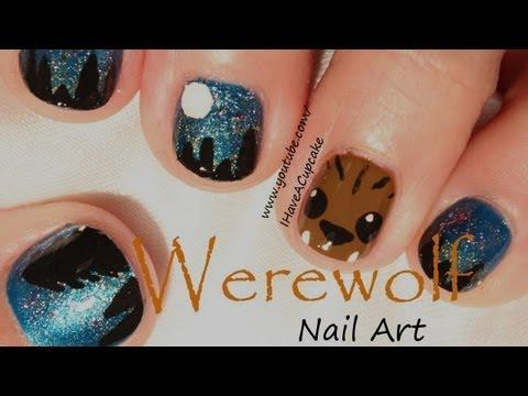 """<p>Get the step-by-step tutorial for a midnight-werewolf theme. This idea works great for short nails.</p><p><a class=""""link rapid-noclick-resp"""" href=""""https://www.amazon.com/Boobeen-Pieces-Nail-Brush-Kit/dp/B085HF68V3/?tag=syn-yahoo-20&ascsubtag=%5Bartid%7C10050.g.33512580%5Bsrc%7Cyahoo-us"""" rel=""""nofollow noopener"""" target=""""_blank"""" data-ylk=""""slk:SHOP NAIL BRUSH KIT"""">SHOP NAIL BRUSH KIT</a></p><p><a href=""""https://www.youtube.com/watch?v=IPX6x1f6RhY"""" rel=""""nofollow noopener"""" target=""""_blank"""" data-ylk=""""slk:See the original post on Youtube"""" class=""""link rapid-noclick-resp"""">See the original post on Youtube</a></p>"""