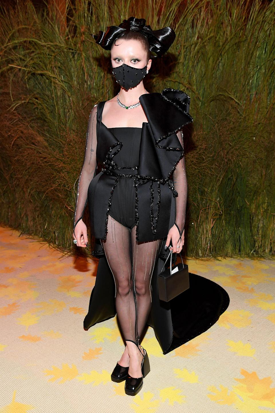 """<h1 class=""""title"""">The 2021 Met Gala Celebrating In America: A Lexicon Of Fashion - Inside</h1><cite class=""""credit"""">Kevin Mazur/MG21</cite>"""