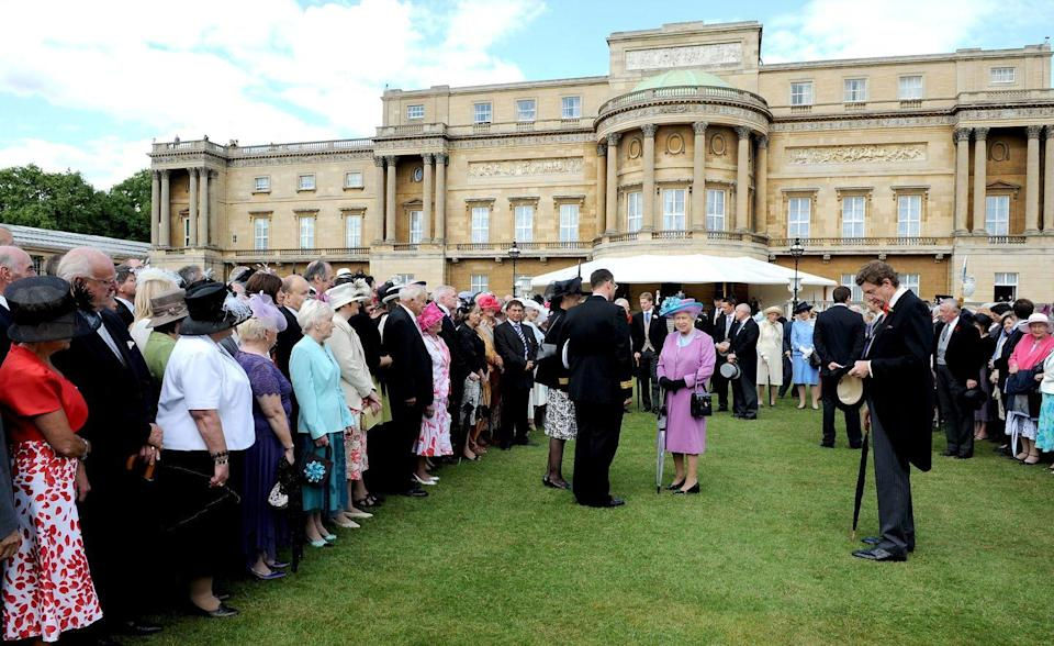 """<p>Getting an invitation to Buckingham Palace is one of the highest honors for a celebrity (or, you know, anyone). According to actor Kunal Nayyar, <a href=""""https://www.youtube.com/watch?v=5-Bo4Ddkj5o&feature=youtu.be"""" rel=""""nofollow noopener"""" target=""""_blank"""" data-ylk=""""slk:who visited the palace in 2017"""" class=""""link rapid-noclick-resp"""">who visited the palace in 2017</a>, you have to accept an invitation sent via email and then you're sent a formal invite in the mail that you have to respond to as well.</p>"""