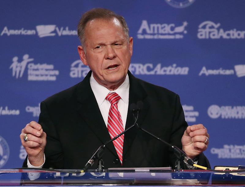 Republican Roy Moore, former chief justice of the Alabama Supreme Court, is running for the U.S. Senate.