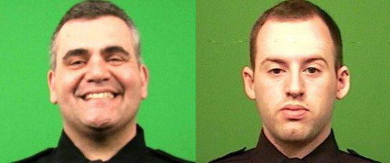 "Two NYPD officers were hailed as heroes after they resuscitated an unresponsive 15-month-old baby girl in March 2014, AP reported. <a href=""http://www.huffingtonpost.com/2014/03/02/nypd-saves-baby_n_4884928.html"" target=""_blank"">Read the full story here</a>."