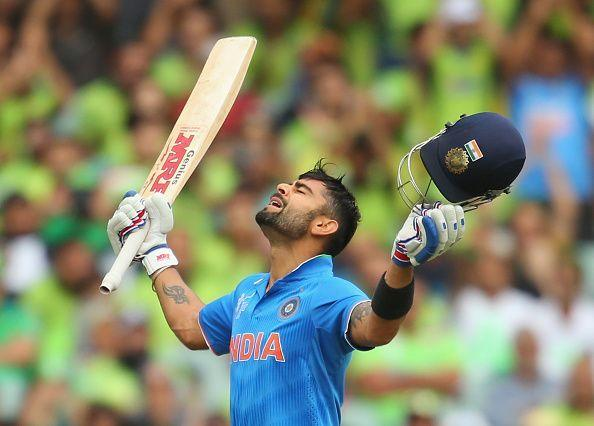 Virat Kohli ranks as one of the most explosive batsmen in ODI cricket