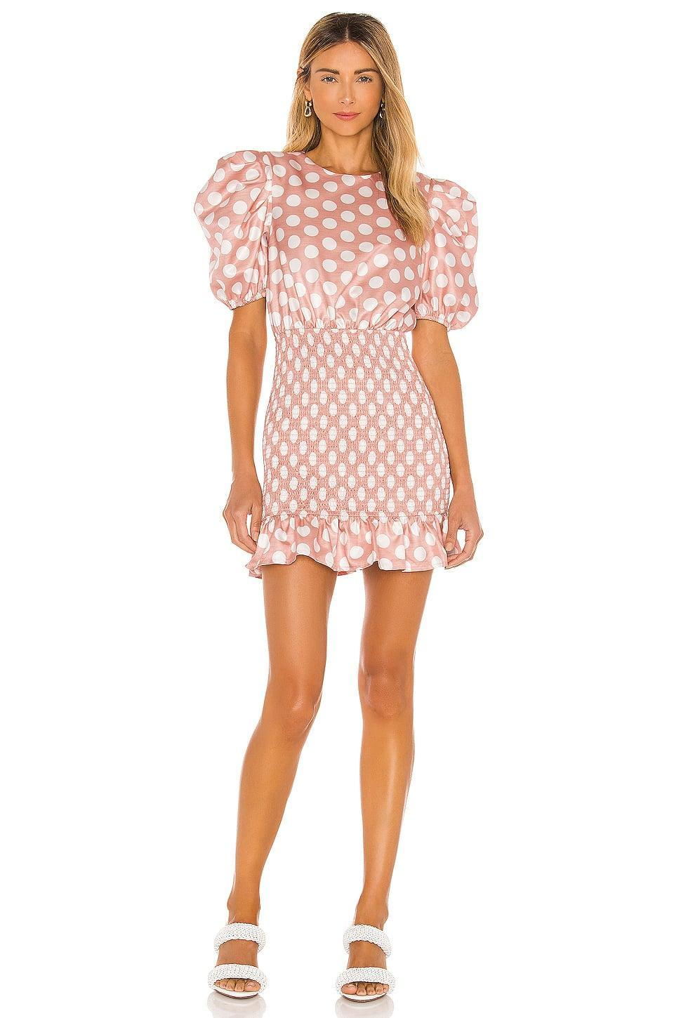 <p>The <span>Camila Coelho Florentino Mini Dress</span> ($218) is a sweet blend of feminine and flirty.</p>
