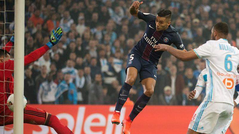 Marquinhos Marseille Paris SG Ligue 1 26022017