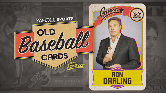 Ron Darling of MLB Network opens baseball cards from 1986 and 1988 and shares stories and memories. (Yahoo Sports)