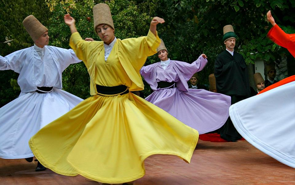 whirling dervishes - Getty