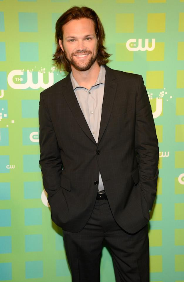 """Jared Padalecki (""""Supernatural"""") attends The CW's 2012 Upfronts on May 17, 2012 in New York City."""