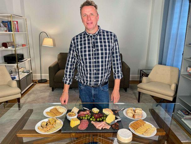 PHOTO: Chef Marc Murphy makes a cheese board in New York City, Oct. 8, 2019. (Will Linendoll/ABC News)