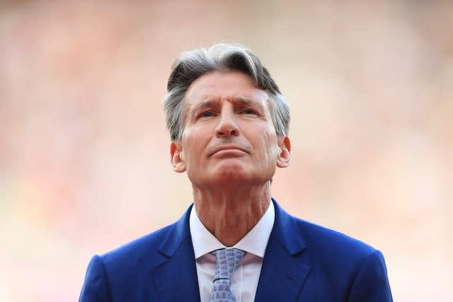 Lord Coe is the president of the IAAF (Adam Davy/PA).