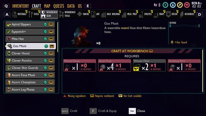 Ranking The Best And Worst Armor Sets You Can Own In Grounded