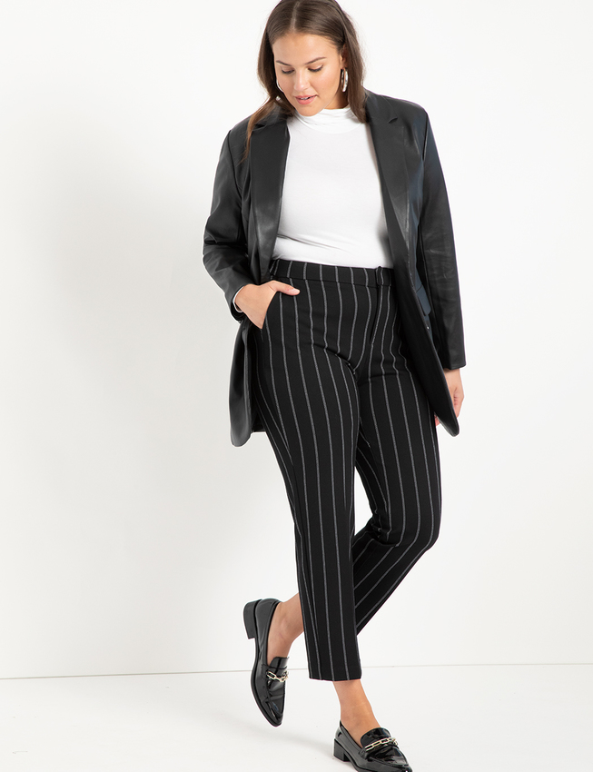 """<h2>Eloquii Menswear Vegan Leather Blazer</h2><br>""""I've been looking for a plus-size-friendly leather jacket with this exact cut in all the vintage/second-hand stores. I've yet to find one that fits right, but I think this one by Eloquii might just be perfect!"""" <em>– Chichi Offor, Affiliate Associate Writer</em><br><br><em>Shop <a href=""""https://www.eloquii.com/"""" rel=""""nofollow noopener"""" target=""""_blank"""" data-ylk=""""slk:Eloquii"""" class=""""link rapid-noclick-resp"""">Eloquii</a></em><br><br><strong>Eloquii</strong> Menswear Vegan Leather Blazer, $, available at <a href=""""https://go.skimresources.com/?id=30283X879131&url=https%3A%2F%2Fwww.eloquii.com%2Fmenswear-vegan-leather-blazer%2F1278079.html"""" rel=""""nofollow noopener"""" target=""""_blank"""" data-ylk=""""slk:Eloquii"""" class=""""link rapid-noclick-resp"""">Eloquii</a>"""
