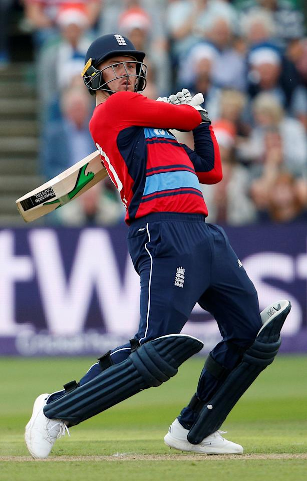 Cricket - England vs South Africa - Second International T20 - Taunton, Britain - June 23, 2017   England's Jason Roy in action   Action Images via Reuters/Andrew Couldridge