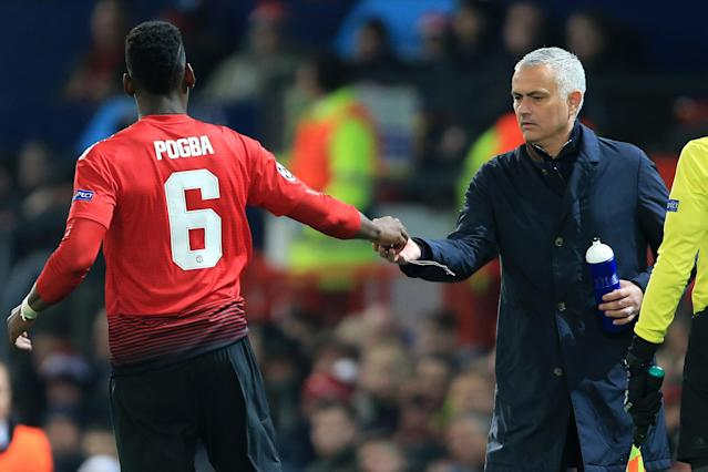 Mourinho's unnecessarily icy relationship with star midfielder Paul Pogba will be one of his lasting legacies in Manchester. (Simon Stacpoole/Getty)