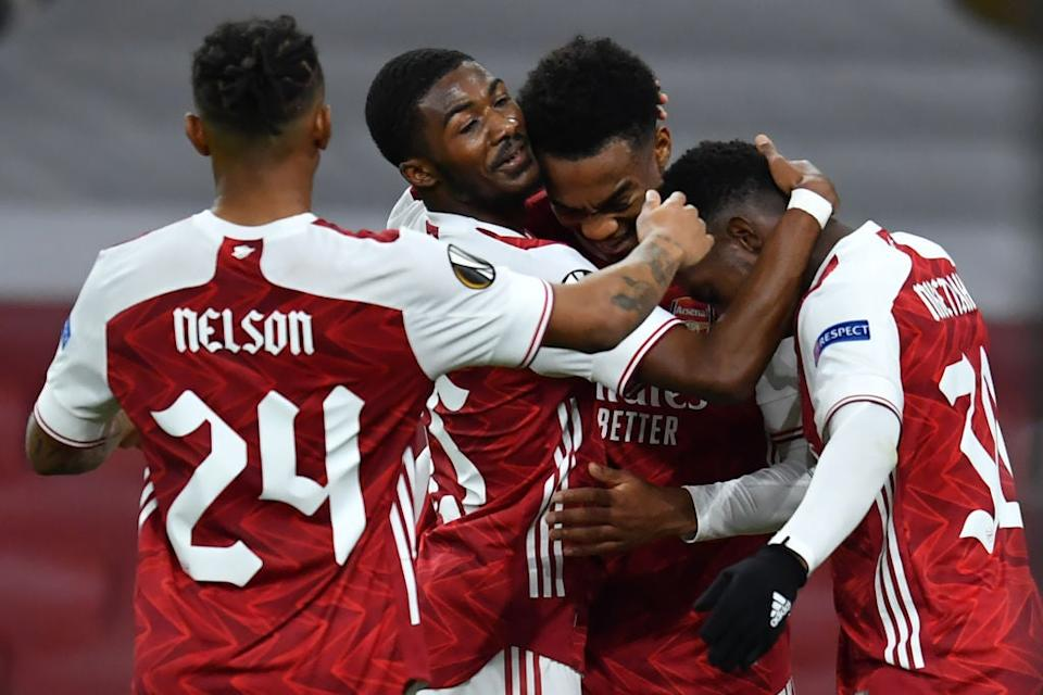<p>Arsenal were too strong for Dundalk</p>AFP