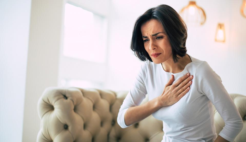 <p>We tend to dismiss chest pain as indigestion or stress. While that could be the case, severe chest pain can also indicate cardiac conditions such as Coronary Microvascular Disease (CMD), which affects the heart's smallest coronary artery blood vessels that play a vital role in regulating blood supply to the heart.</p> <p>As per health experts, women, especially those around the menopausal stage, are more likely to get CMD than men, with angina, or chest pain, being the main symptom. Women also report discomfort in the belly, neck, chest, jaw, throat or back, along with sweating, dizziness or shortness of breath.</p>