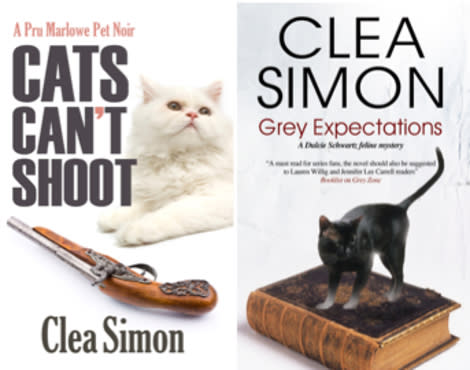 Clea Simon's ninth and tenth books are due out in April.