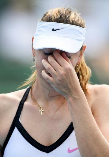 Sharapova will play on a wildcard at next week's Australian Open after her ranking slumped last year