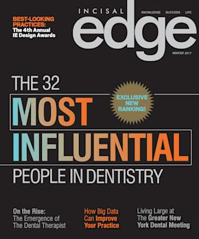 Incisal Edge Introduces Inaugural List of Dentistry's 32 Most Influential