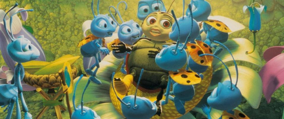 This early Pixar film takes place on Ants' Island, where a colony of ants lives under the Queen and her daughter, Princess Atta. When a bug, Flik, makes a mistake, he is sent away as punishment. But after lots of perseverance and quite the inventive streak, Flik finally returns home as a hero.