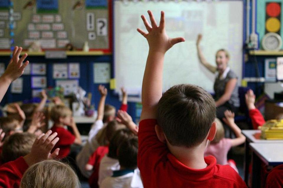 Primary school children are mastering the three Rs, results show (Dave Thompson/PA Wire)