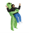 """<p><strong>Morph</strong></p><p>halloweencostumes.com</p><p><strong>$49.99</strong></p><p><a href=""""https://go.redirectingat.com?id=74968X1596630&url=https%3A%2F%2Fwww.halloweencostumes.com%2Fadult-pick-me-up-alien-inflatable-costume.html&sref=https%3A%2F%2Fwww.goodhousekeeping.com%2Fholidays%2Fhalloween-ideas%2Fg21965973%2Fcollege-halloween-costumes%2F"""" rel=""""nofollow noopener"""" target=""""_blank"""" data-ylk=""""slk:Shop Now"""" class=""""link rapid-noclick-resp"""">Shop Now</a></p><p>How does it work? The alien's legs are actually your legs, and the inflatable part blows up with the convenience of the built-in air pump — just make sure you have AA batteries on hand. </p>"""