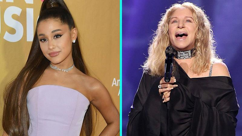 Ariana Grande performs surprise duet with Barbra Streisand at Chicago concert