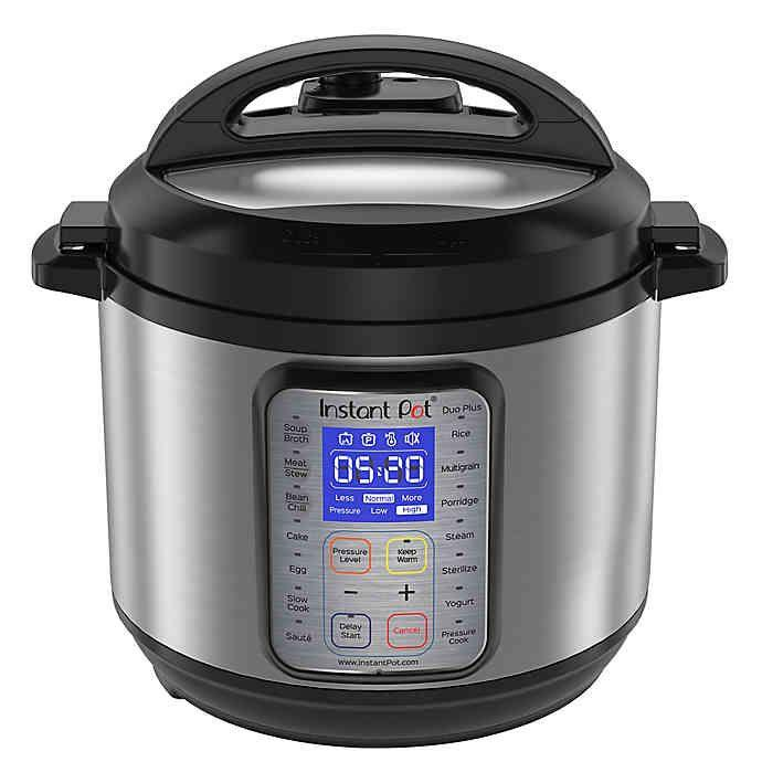 """<h3><a href=""""https://www.bedbathandbeyond.com/store/product/instant-pot-reg-9-in-1-duo-plus-programmable-electric-pressure-cooker/5230177"""" rel=""""nofollow noopener"""" target=""""_blank"""" data-ylk=""""slk:Instant Pot 9-In-1 Duo Plus Programmable Pressure Cooker"""" class=""""link rapid-noclick-resp"""">Instant Pot 9-In-1 Duo Plus Programmable Pressure Cooker</a> ( <strong>Year-Round Bestseller)</strong></h3><p>Another savvy buy for post-grads or current students living in understocked kitchen spaces — this consistent bestselling kitchen essential turns one-pot meals into easy weeklong feasts. As one proud purchaser relates, """"I bought this for my son. He cooks for his friends and prepares meals for his work week in advance. It's a good time saver and great tool.""""</p><br><br><strong>Instant Pot</strong> 9-in-1 Duo Plus Programmable Electric Pressure Cooker, $129.99, available at <a href=""""https://www.bedbathandbeyond.com/store/product/instant-pot-reg-9-in-1-duo-plus-programmable-electric-pressure-cooker/5230177"""" rel=""""nofollow noopener"""" target=""""_blank"""" data-ylk=""""slk:Bed Bath & Beyond"""" class=""""link rapid-noclick-resp"""">Bed Bath & Beyond</a>"""