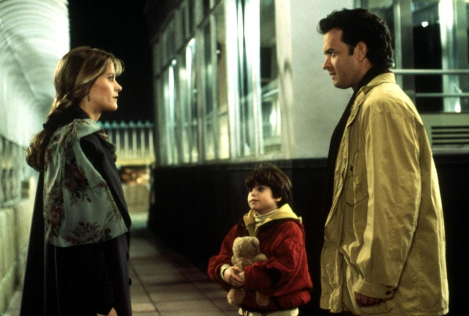 "<p>The '90s was a golden era for the romantic comedy, and <em>Sleepless in Seattle</em>, directed and cowritten by Nora Ephron, is one of the finest examples of the genre. Meg Ryan plays Annie, a reporter who falls in love with a widower (Tom Hanks) after she hears him on a popular radio program.</p> <p><em>Available to rent on</em> <a href=""https://www.amazon.com/Sleepless-Seattle-Meg-Ryan/dp/B00BZBQ0ES"" rel=""nofollow noopener"" target=""_blank"" data-ylk=""slk:Amazon Prime Video"" class=""link rapid-noclick-resp""><em>Amazon Prime Video</em></a><em>.</em></p>"