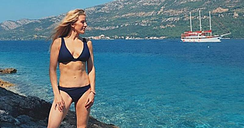 Ellie Goulding Shows Off Toned Bikini Body On Honeymoon With