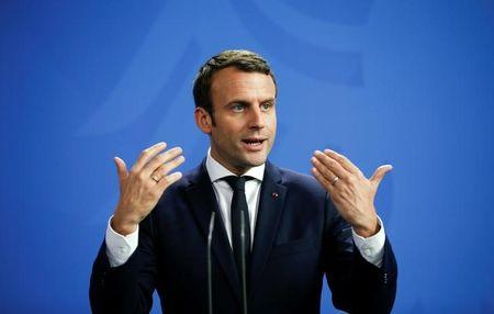 Change to European Union  treaties 'not taboo' - Macron