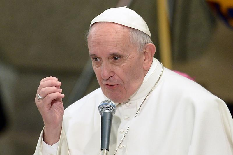 Pope Francis warned priests and nuns against abusing their religious vows of chastity, poverty and obedience as he delivers a speech at the Vatican, on February 1, 2016