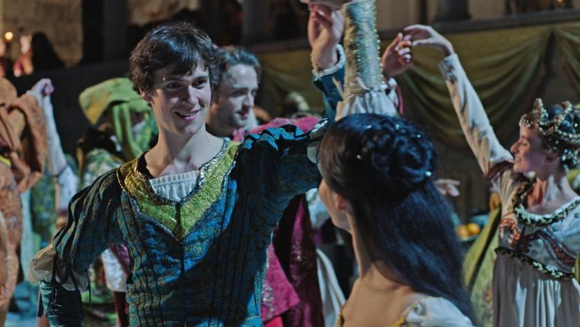 """Great Performances: Romeo and Juliet -- PBS TV Series, William Bracewell and Francesca Hayward. William Bracewell and Francesca Hayward in """"Great Performances: Romeo and Juliet"""" on PBS."""