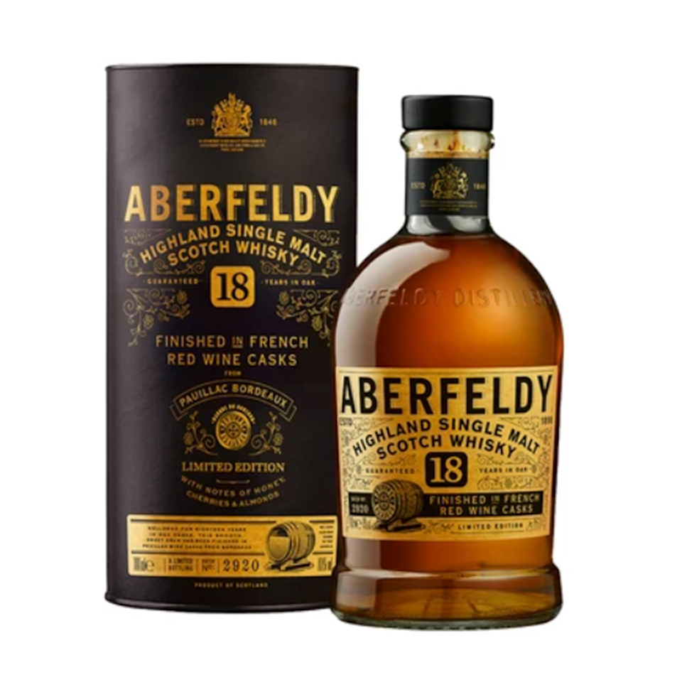 "<p><strong>Aberfeldy</strong></p><p>reservebar.com</p><p><strong>$130.00</strong></p><p><a href=""https://go.redirectingat.com?id=74968X1596630&url=https%3A%2F%2Fwww.reservebar.com%2Fproducts%2Faberfeldy-18-year-old&sref=https%3A%2F%2Fwww.redbookmag.com%2Ffood-recipes%2Fg34824733%2Fwhiskey-gifts-for-whiskey-lovers%2F"" rel=""nofollow noopener"" target=""_blank"" data-ylk=""slk:BUY IT HERE"" class=""link rapid-noclick-resp"">BUY IT HERE</a></p><p>Time is of the essence when it comes to enjoyable single malts, and this golden burgundy expression from the foothills Central Highlands of Scotland spends 18 years aging in casks before its ready to be consumed by the public. It's finished in French Wine Casks from Pauillac, Bordeaux and provides rich, creamy vanilla notes, in combination with a fruity, blackberry finish.</p>"