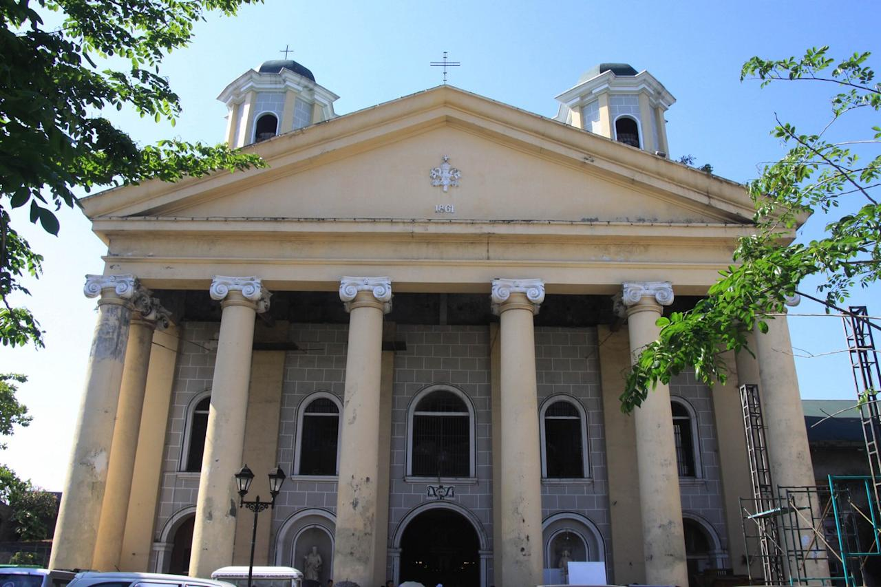 The San Bartolome Parish de Malabon is one of the oldest Augustinian church in the Philippines dating back to 1700. The church houses the Patron saint of Malabon – the Apostle Saint Bartholomew. Initially founded as an 'Iglesia' (church) of Manila on May 21, 1599, the San Bartolome Church in Malabon boasts of its architecture and intricate design of its interiors. (George Calvelo, NPPA Images)