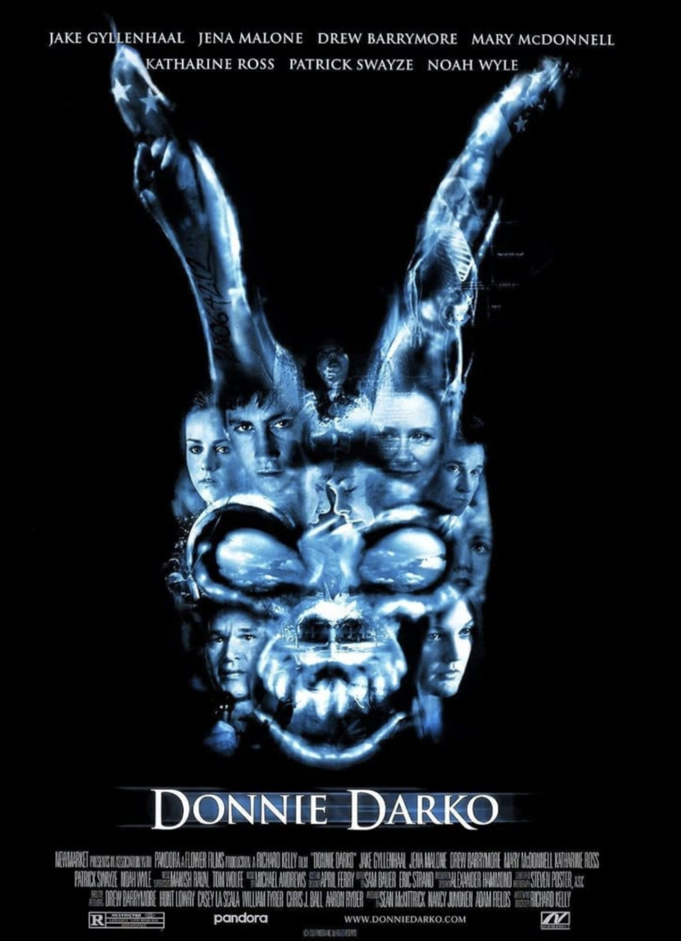 <p>This cult classic is just as good with every watch. Released on January 19, 2001, fresh face Jake Gyllenhaal plays Donnie Darko who sleepwalks and sees an ominous rabbit named Frank. He tells Donnie that the world will end in 28 days. Is it an alternate universe or a perspective of mental illness? Whatever it is, it's cinema that was ahead of its time. </p>