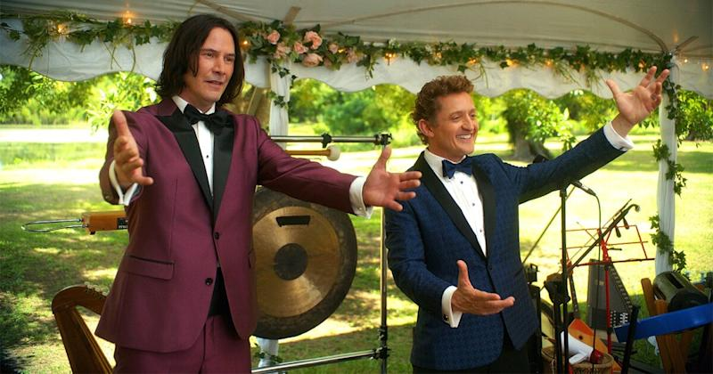 See Keanu Reeves and Alex Winter Reunite in Bill & Ted Face the Music — 19 Years After Sequel!