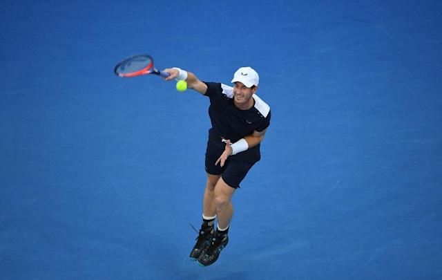 Andy Murray bows out in Melbourne (AFP Photo/SAEED KHAN)