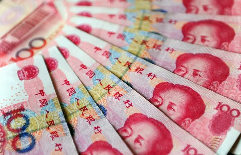 An illustration of Chinese currency 100