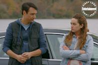 <p>Daniel gets a glare from his grumpy daughter/student, Samantha (Mary Mouser).</p>