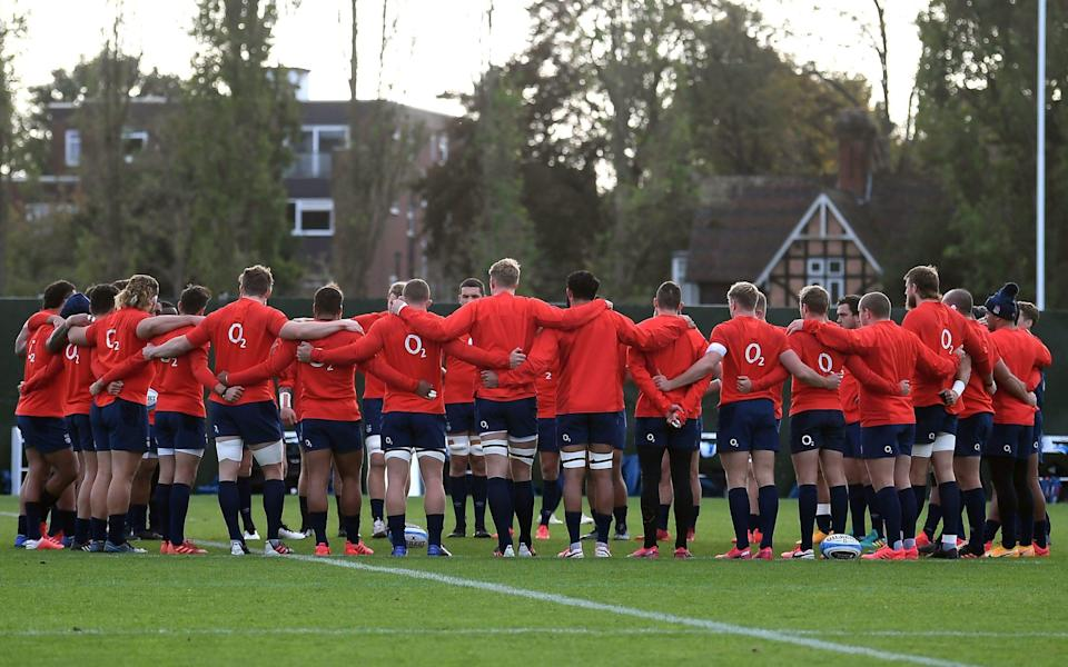 England squad training in Teddington -Mick Cleary's verdict: A player-by-player guide to the England starting XV to play Italy - PA
