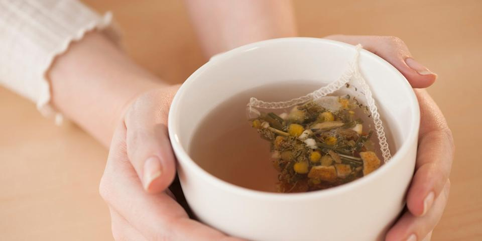 If you're having trouble falling asleep, drinking chamomile tea before bed may help.