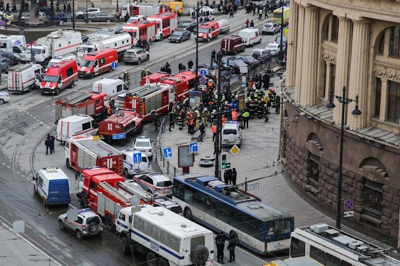 Explosion on St. Petersburg Metro System Leaves Several Dead