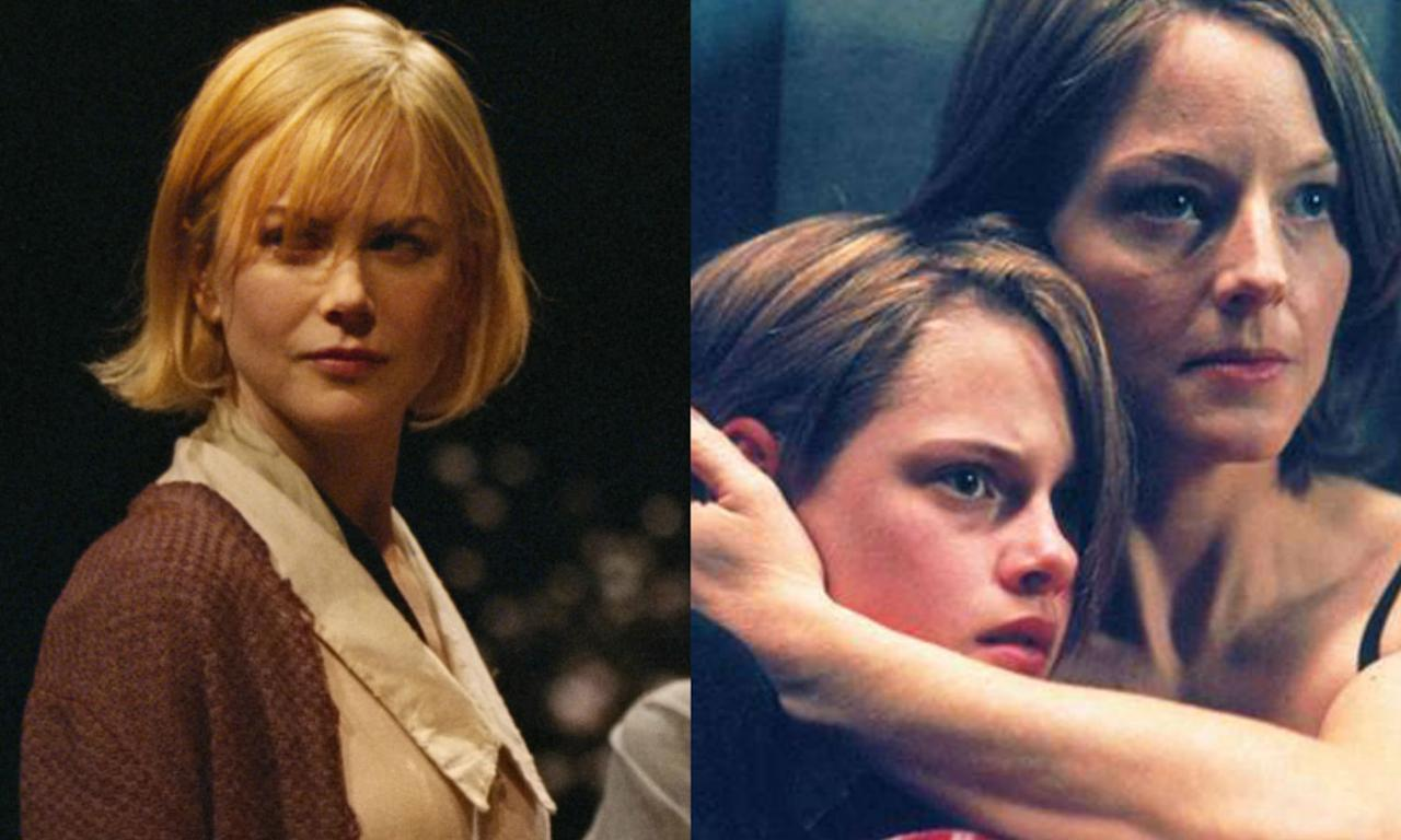 <p>Nicole Kidman shot the Panic Room role for 18 days but had to drop out because of a knee injury she had picked up on Moulin Rouge. Jodie Foster was brought in as was Kristen Stewart, who replaced Hayden Panettiere as Meg's daughter Sara. </p>