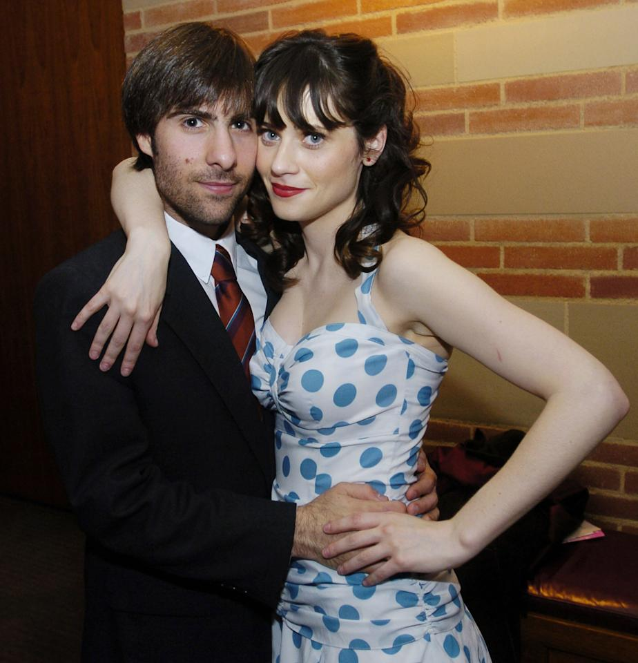 Zooey Deschanel and Jason Schwartzman (Photo by Chris Pizzello/WireImage)
