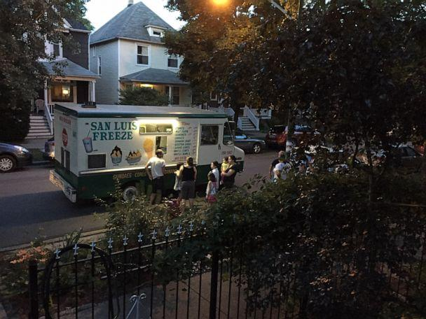 PHOTO: Nieto has been serving ice cream to the same Chicago neighborhood for more than 14 years. (Brigitte Maronde)