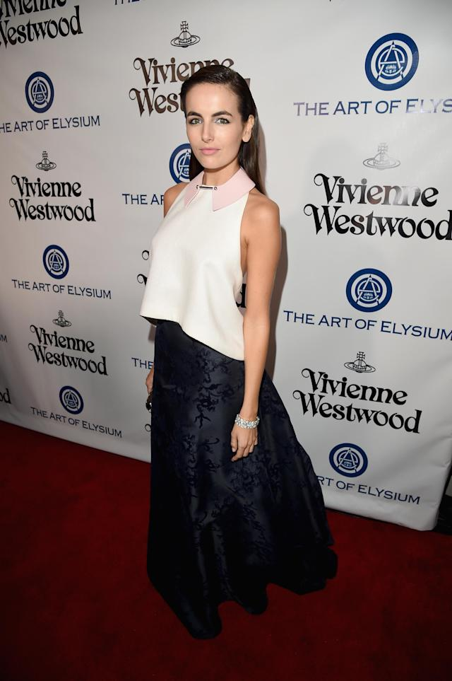 <p>Belle attends the Art of Elysium 2016 Heaven Gala presented by Vivienne Westwood and Andreas Kronthaler in January 2016 in Culver City, Calif. (Photo: Getty Images) </p>