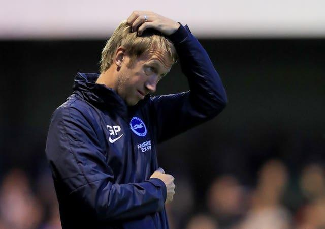 Brighton have lost their last two matches and are without a win in four Premier League games.